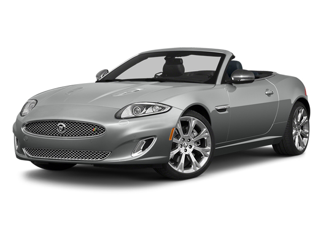 2014 Jaguar XK Prices and Values Convertible 2D XKR V8 Supercharged side front view