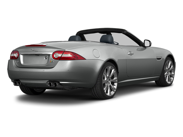 2014 Jaguar XK Prices and Values Convertible 2D XKR V8 Supercharged side rear view