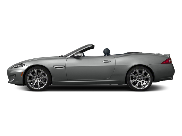 2014 Jaguar XK Prices and Values Convertible 2D XKR V8 Supercharged side view