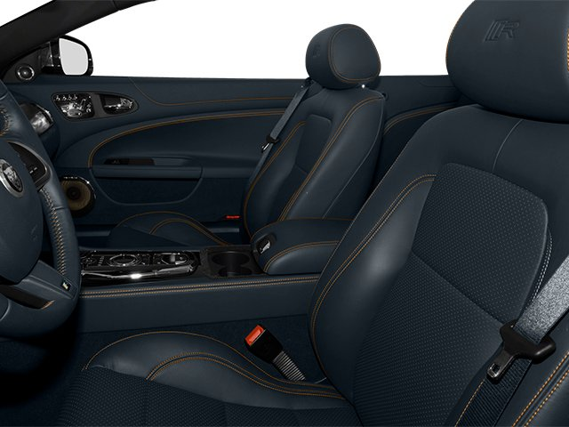 2014 Jaguar XK Prices and Values Convertible 2D XKR V8 Supercharged front seat interior