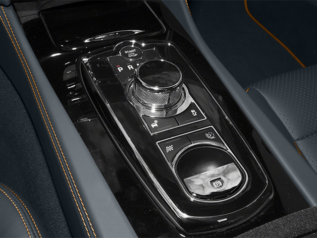 2014 Jaguar XK Prices and Values Convertible 2D XKR V8 Supercharged center console
