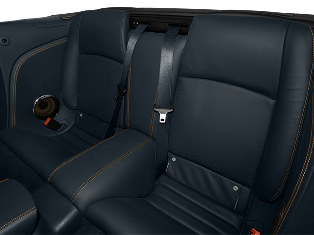 2014 Jaguar XK Prices and Values Convertible 2D XKR V8 Supercharged backseat interior