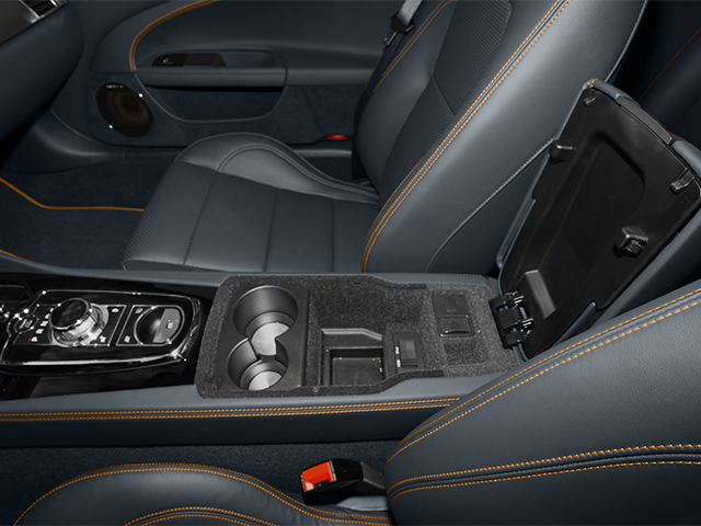 2014 Jaguar XK Prices and Values Convertible 2D XKR V8 Supercharged center storage console