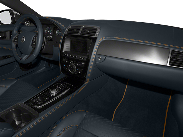2014 Jaguar XK Prices and Values Convertible 2D XKR V8 Supercharged passenger's dashboard