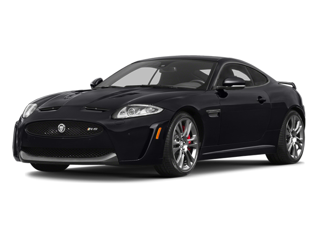 2014 Jaguar XK Prices and Values Coupe 2D XKR-S V8 Supercharged side front view