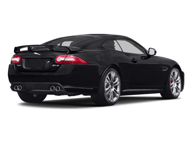 2014 Jaguar XK Prices and Values Coupe 2D XKR-S V8 Supercharged side rear view