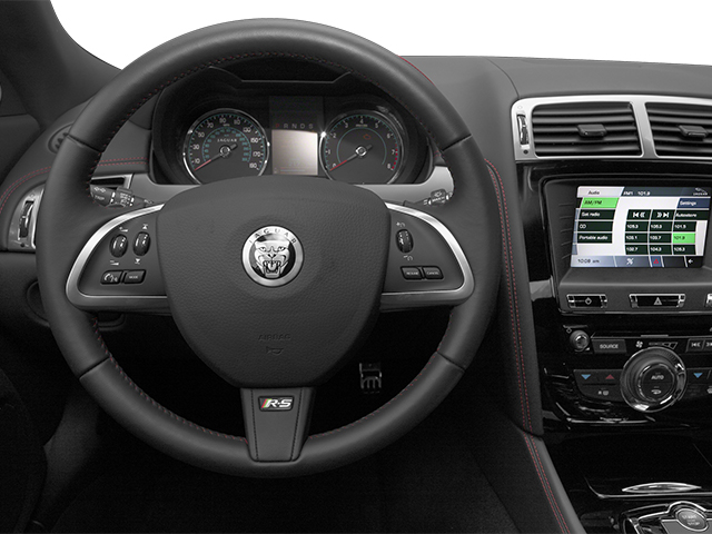 2014 Jaguar XK Prices and Values Coupe 2D XKR-S V8 Supercharged driver's dashboard