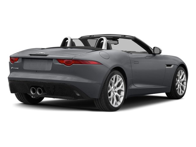 2014 Jaguar F TYPE Prices And Values Convertible 2D V6 Side Rear View