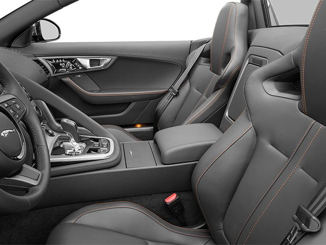 2014 Jaguar F-TYPE Prices and Values Convertible 2D V6 front seat interior