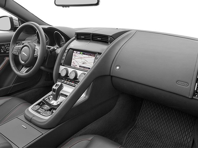 2014 Jaguar F-TYPE Prices and Values Convertible 2D V6 passenger's dashboard