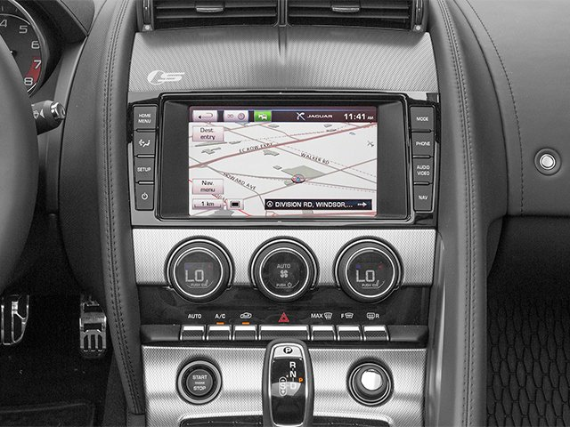 2014 Jaguar F-TYPE Prices and Values Convertible 2D V6 navigation system