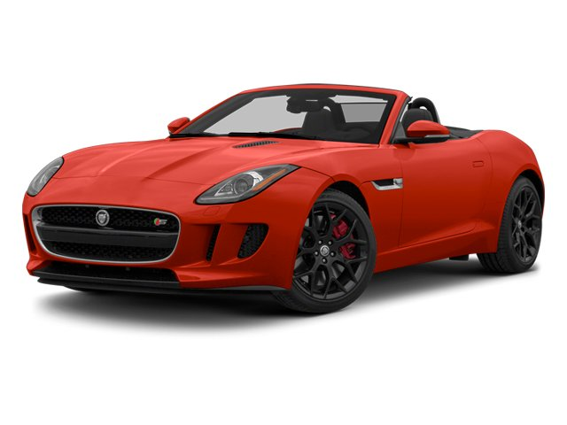 2014 Jaguar F-TYPE Prices and Values Convertible 2D S V6 side front view