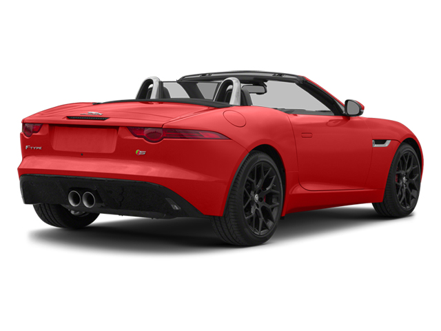 2014 Jaguar F-TYPE Prices and Values Convertible 2D S V6 side rear view