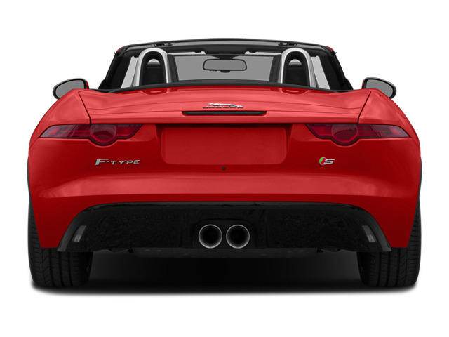 2014 Jaguar F-TYPE Prices and Values Convertible 2D S V6 rear view