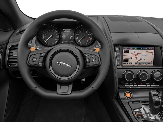 2014 Jaguar F-TYPE Prices and Values Convertible 2D S V6 driver's dashboard