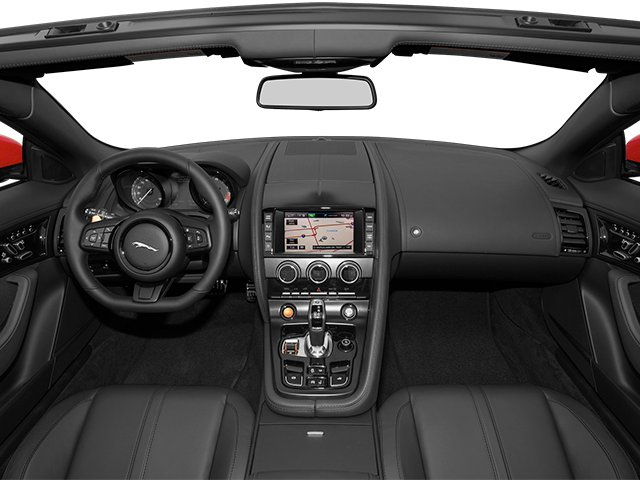 2014 Jaguar F-TYPE Prices and Values Convertible 2D S V6 full dashboard