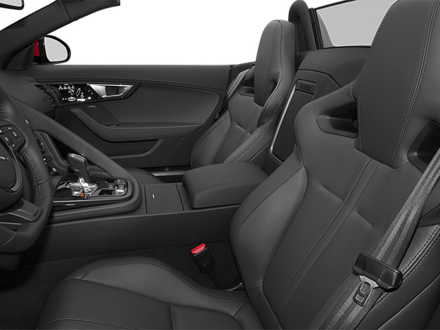 2014 Jaguar F-TYPE Prices and Values Convertible 2D S V6 front seat interior