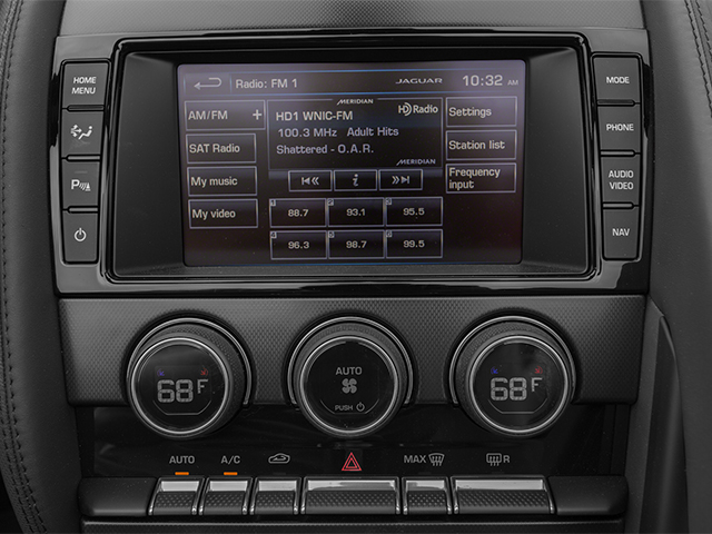 2014 Jaguar F-TYPE Prices and Values Convertible 2D S V6 stereo system