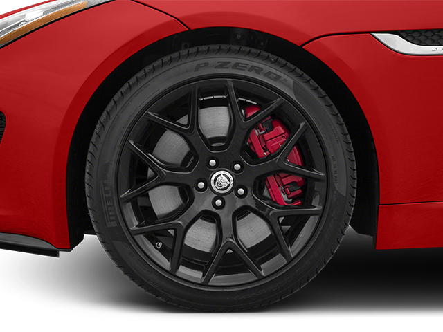 2014 Jaguar F-TYPE Prices and Values Convertible 2D S V6 wheel