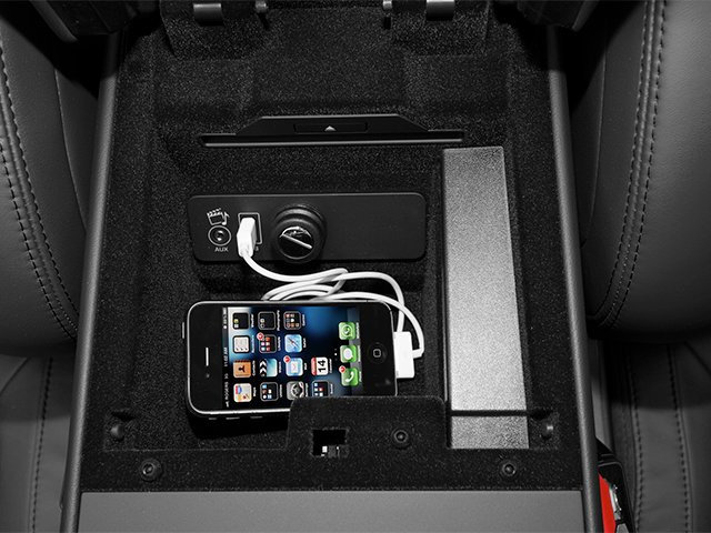 2014 Jaguar F-TYPE Prices and Values Convertible 2D S V6 iPhone Interface