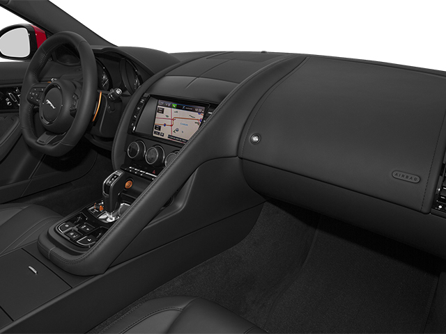 2014 Jaguar F-TYPE Prices and Values Convertible 2D S V6 passenger's dashboard