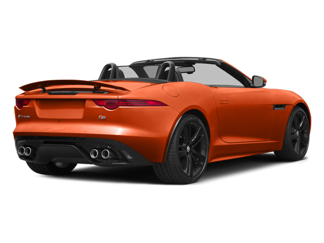 2014 Jaguar F-TYPE Pictures F-TYPE Convertible 2D S V8 photos side rear view