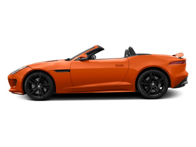 2014 Jaguar F-TYPE Pictures F-TYPE Convertible 2D S V8 photos side view