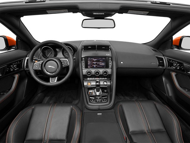 2014 Jaguar F TYPE Prices And Values Convertible 2D S V8 Full Dashboard