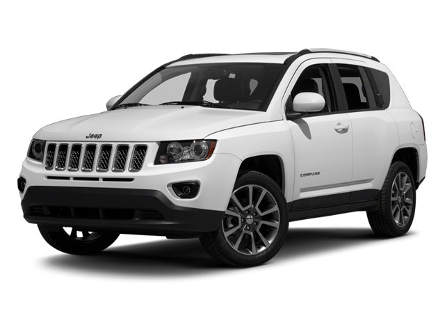 2014 Jeep Compass Prices and Values Utility 4D Altitude 2WD side front view