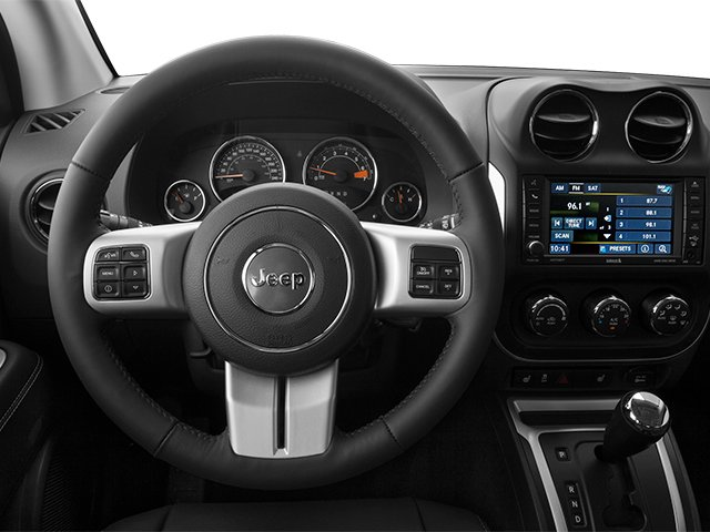 2014 Jeep Compass Prices and Values Utility 4D Altitude 2WD driver's dashboard