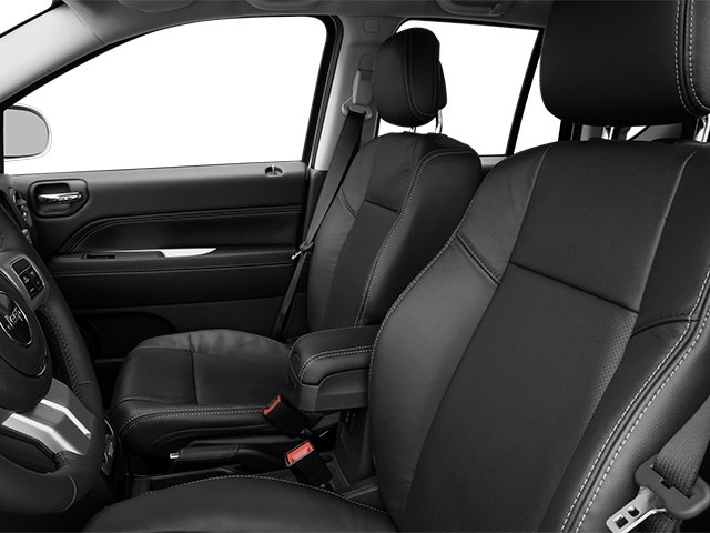 2014 Jeep Compass Prices and Values Utility 4D Altitude 2WD front seat interior
