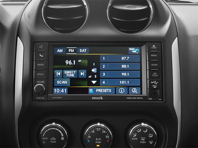 2014 Jeep Compass Prices and Values Utility 4D Altitude 2WD stereo system