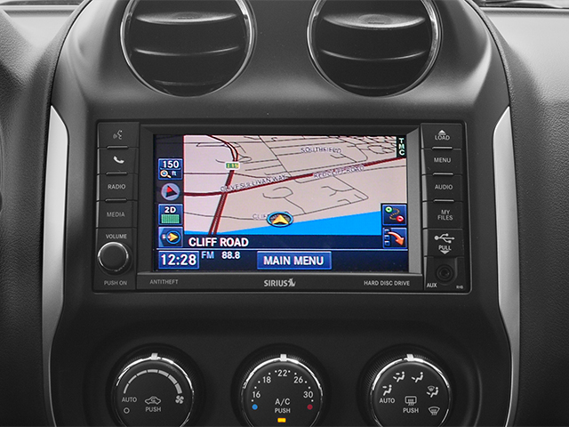 2014 Jeep Compass Prices and Values Utility 4D Altitude 2WD navigation system