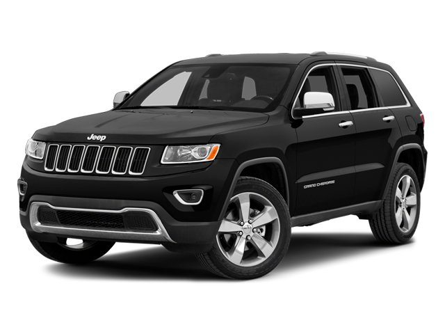 2014 Jeep Grand Cherokee Prices and Values Utility 4D Overland Diesel 4WD side front view