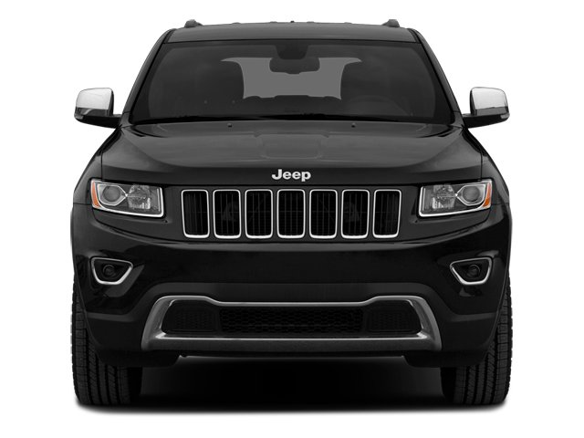 2014 Jeep Grand Cherokee Pictures Grand Cherokee Utility 4D Overland 2WD photos front view