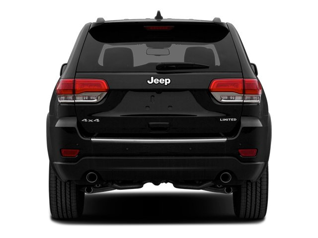 2014 Jeep Grand Cherokee Prices and Values Utility 4D Overland Diesel 4WD rear view