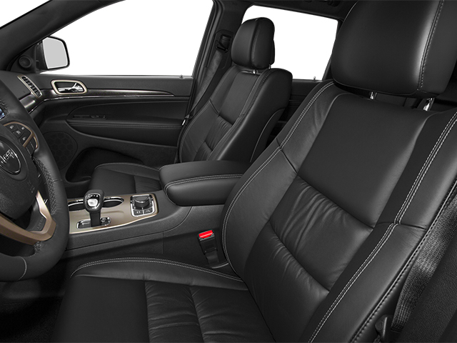 2014 Jeep Grand Cherokee Pictures Grand Cherokee Utility 4D Limited 2WD photos front seat interior