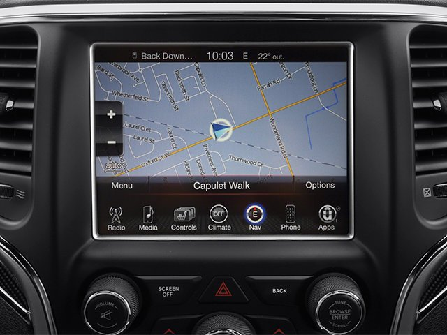 2014 Jeep Grand Cherokee Pictures Grand Cherokee Utility 4D SRT-8 4WD photos navigation system