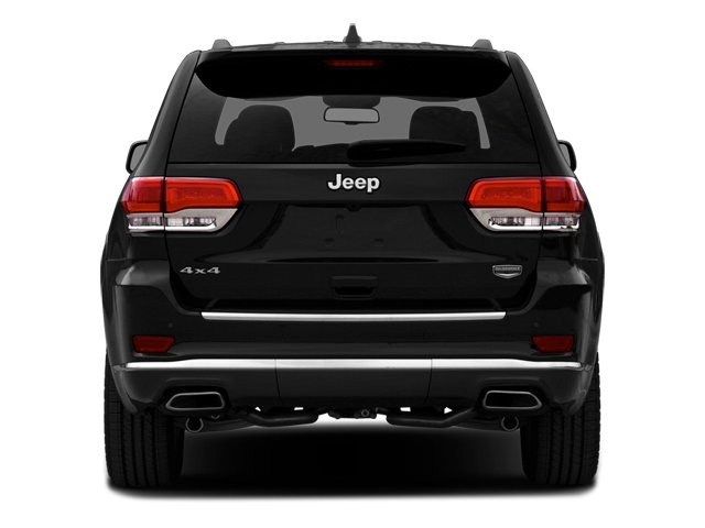 2014 Jeep Grand Cherokee Prices and Values Utility 4D Summit 4WD rear view