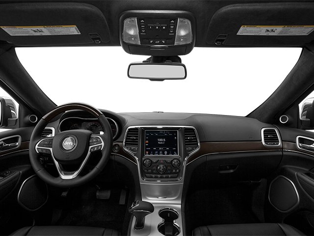 2014 Jeep Grand Cherokee Prices and Values Utility 4D Summit 4WD full dashboard