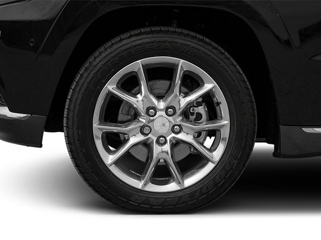 2014 Jeep Grand Cherokee Prices and Values Utility 4D Summit 4WD wheel