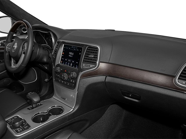 2014 Jeep Grand Cherokee Prices and Values Utility 4D Summit Diesel 4WD passenger's dashboard