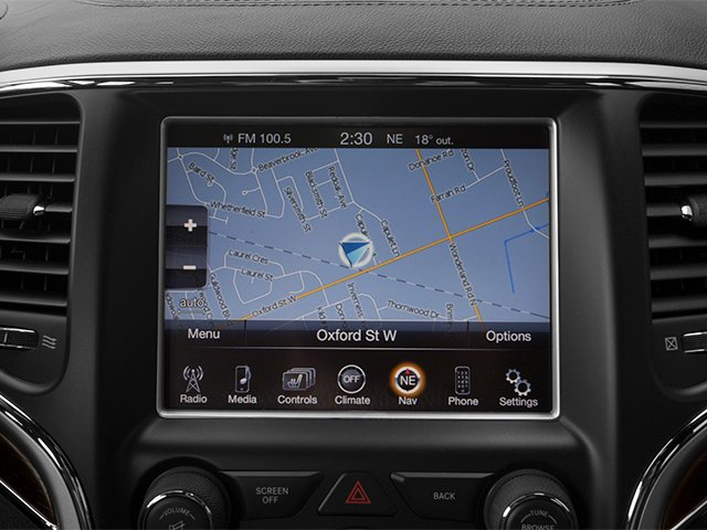 2014 Jeep Grand Cherokee Prices and Values Utility 4D Summit 4WD navigation system