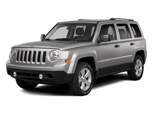 2014 Jeep Patriot Prices and Values Utility 4D Latitude 4WD side front view