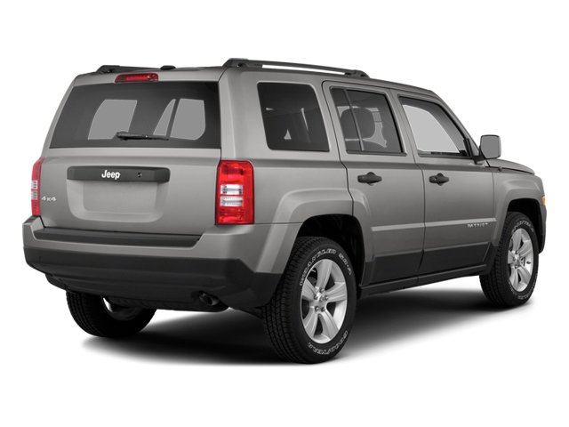 2014 Jeep Patriot Prices and Values Utility 4D Latitude 4WD side rear view
