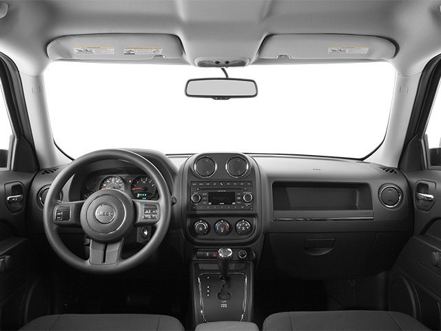 2014 Jeep Patriot Prices and Values Utility 4D Latitude 4WD full dashboard