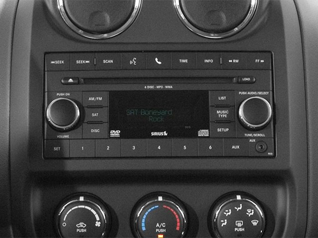 2014 Jeep Patriot Prices and Values Utility 4D Latitude 4WD stereo system