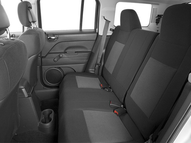 2014 Jeep Patriot Prices and Values Utility 4D Latitude 2WD backseat interior