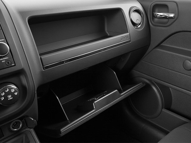 2014 Jeep Patriot Prices and Values Utility 4D Latitude 2WD glove box