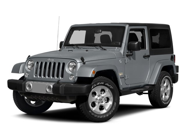 2014 Jeep Wrangler Pictures Wrangler Utility 2D Altitude 4WD V6 photos side front view